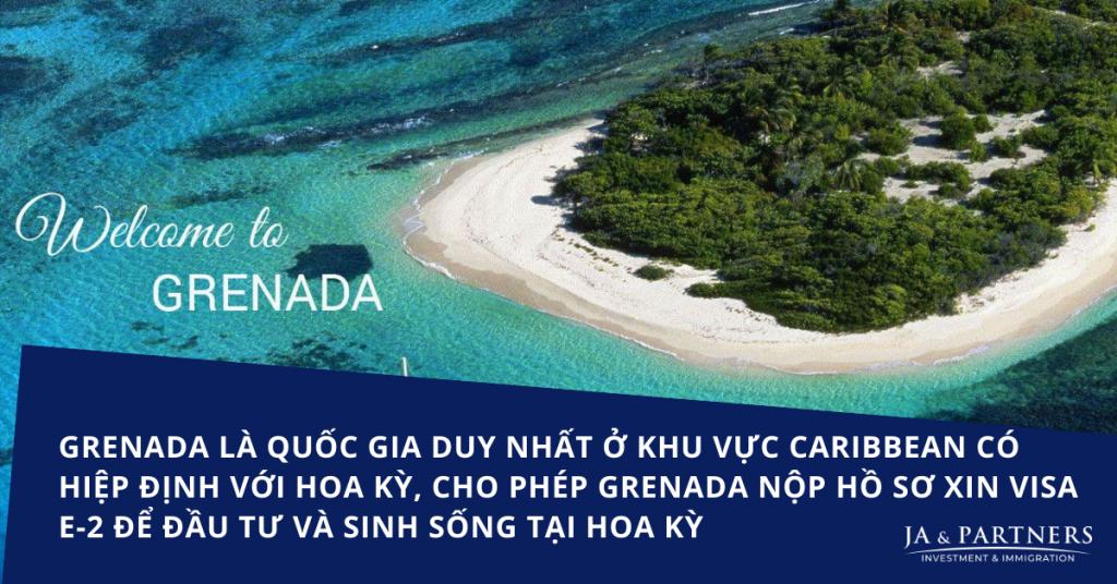 Hình nhập tịch Grenada - Đường tắt đến định cư Mỹ