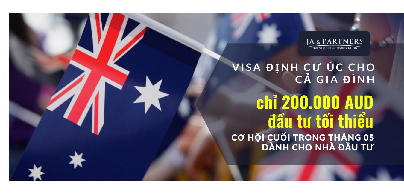 visa định cư úc cho cả gia đình - FB up